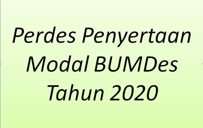 https://juraganberdesa.blogspot.com/2020/03/perdes-penyertaan-modal-bumdes-tahun-2020.html