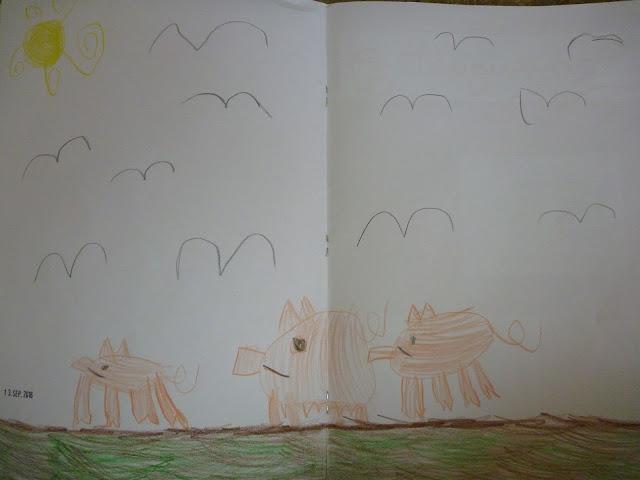Unterricht Kindergarten Zeichnen