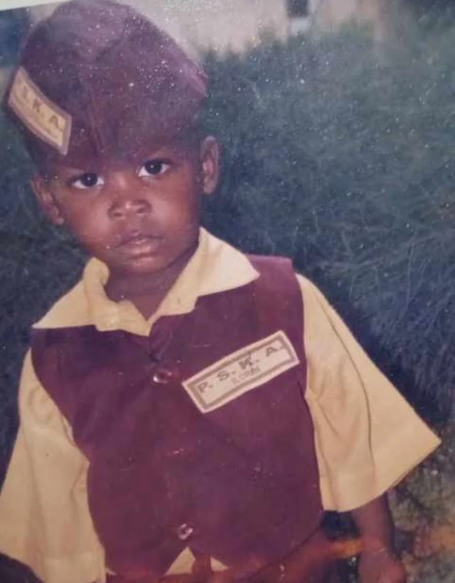 Lil Smart Shares Throwback Photos of him at 5, Childhood memories