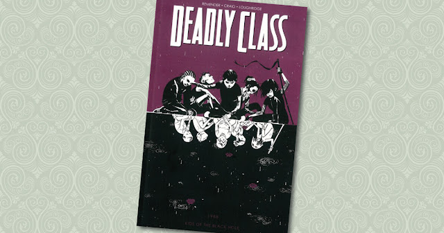 Deadly Class 2 Panini Cover