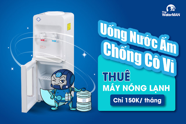 Cho Thuê Máy Nóng Lạnh chỉ 150k/ tháng
