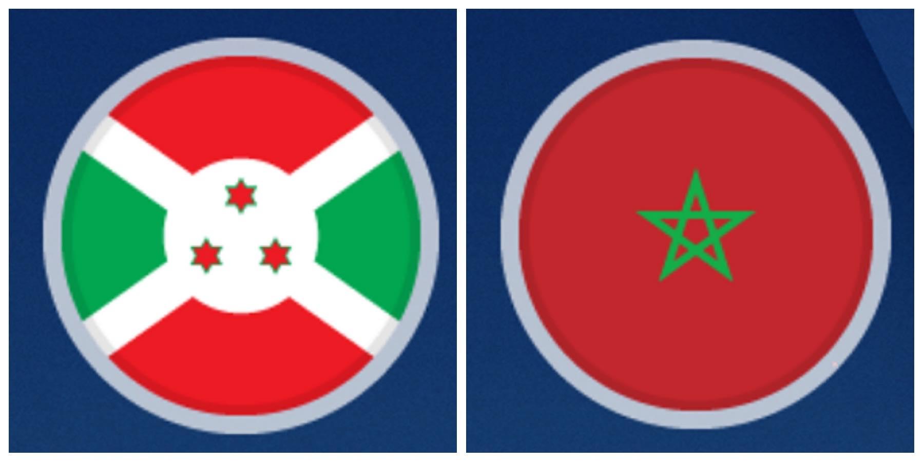 بث مباشر مباراة المغرب وبوروندي