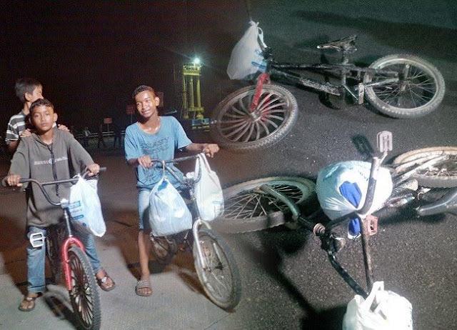 3 Bocah Nekat Naik Sepeda dari Palembang Ke Ciledug Demi Bertemu Ibu Bapaknya