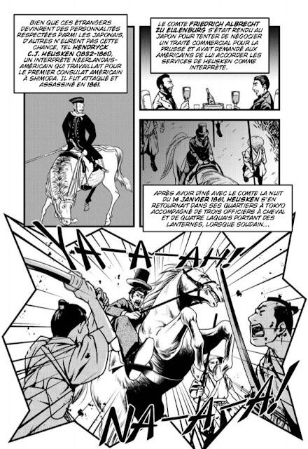 Le crépuscule des Samouraïs - la rébellion de Satsuma chez Graph Zeppelin extrait 3
