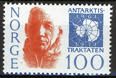 Norway 1971, Roald Amundsen Antarctic Treaty