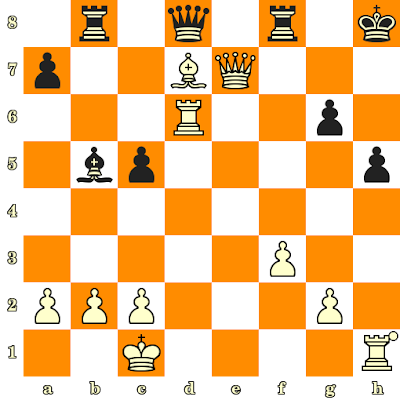 Les Blancs jouent et matent en 3 coups - Alexandre Roubaud vs Adam Taylor, Hastings, 2011