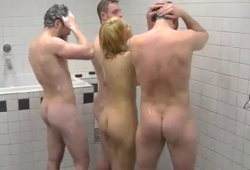 Authoritative nude girls in lockerroom video agree with