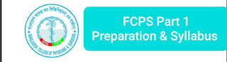 FCPS part 1 Syllabus medicine