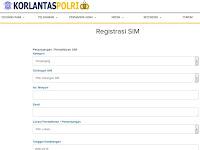 Daftar Kota Perpanjangan SIM Online