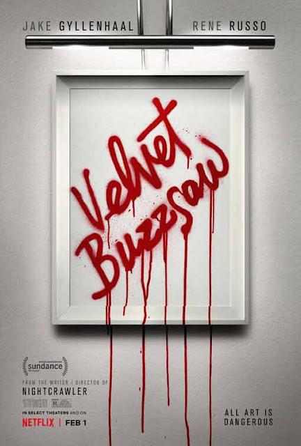 لعشاق الـ horror.. إليك أقوى أفلام الرعب المرتقبة في سنة 2019 فيلم velvet buzzsaw