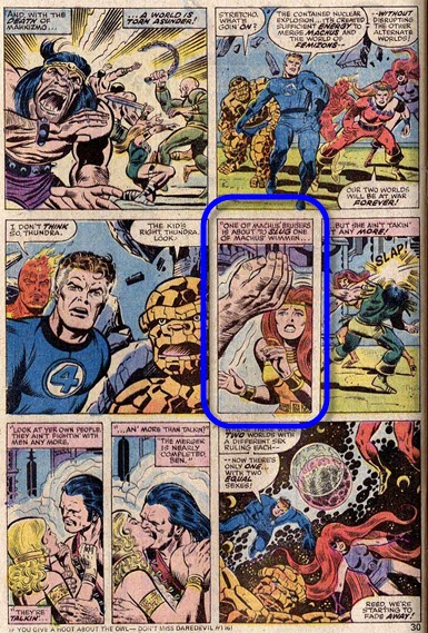 Fantastic Four 153-WorldsInCollision