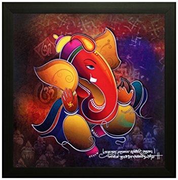 Ganesha Modern Art Image