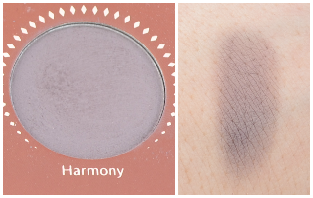 Zoeva rose golden Palette harmony und Swatch