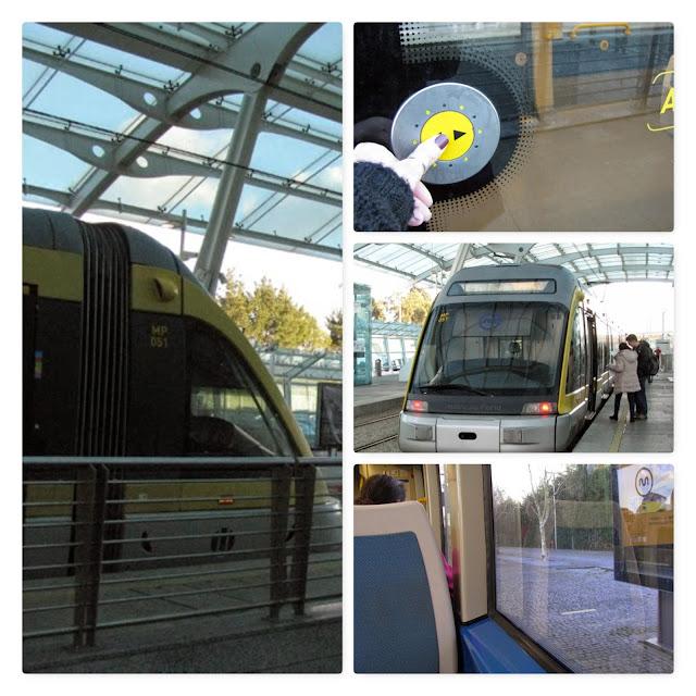 Estação de metro do aeroporto do Porto