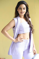 Tanya Hope in Crop top and Trousers Beautiful Pics at her Interview 13 7 2017 ~  Exclusive Celebrities Galleries 032.JPG