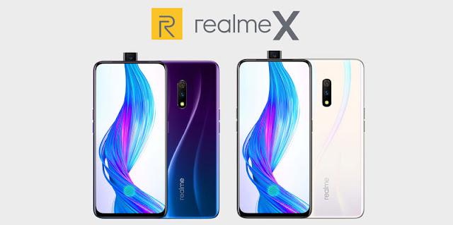 Spesifikasi Lengkap Realme X dan Harganya