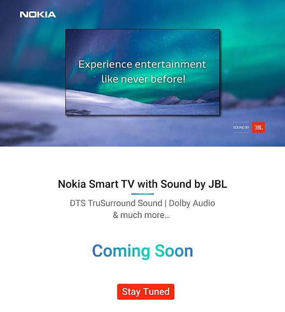 Nokia Smart TV Sound By JBL