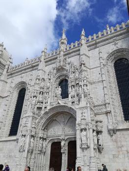 Detalle del monasterio de los Jerónimos. Foto de Teresa Rey.
