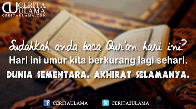 Sudahkah Anda Baca Qur'an?