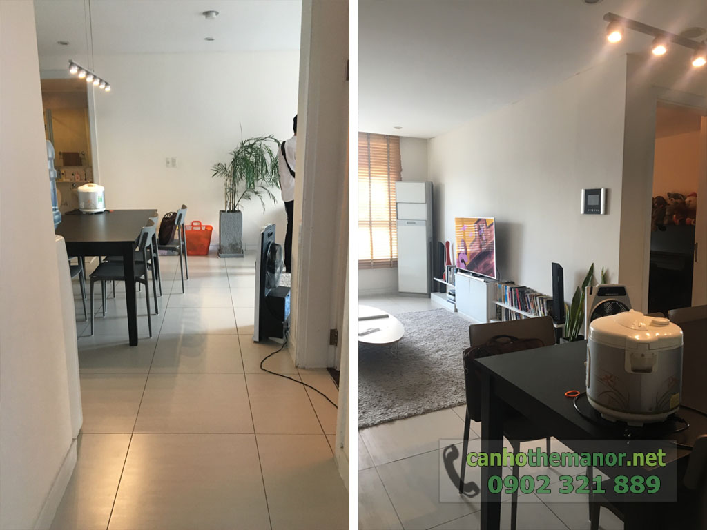 Bán căn hộ có sổ hồng The Manor 124m2 có sẵn nội thất mua về là ở - hình 4
