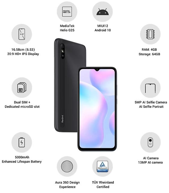 Redmi का नया Smartphone Redmi 9i हुई लॉन्च इस Smartphone की पहली सेल 18 सितंबर को होगी