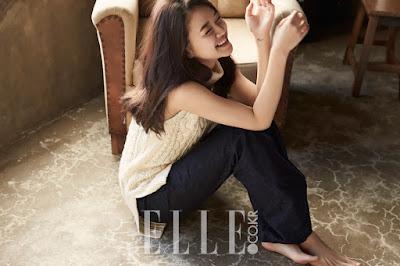 Go Ah Sung Elle April 2016