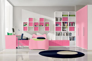 modern bedroom design for girl