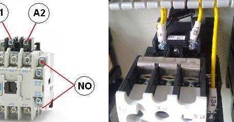 kontaktor+kontaktor+2 Gambar Wiring Diagram Ats on