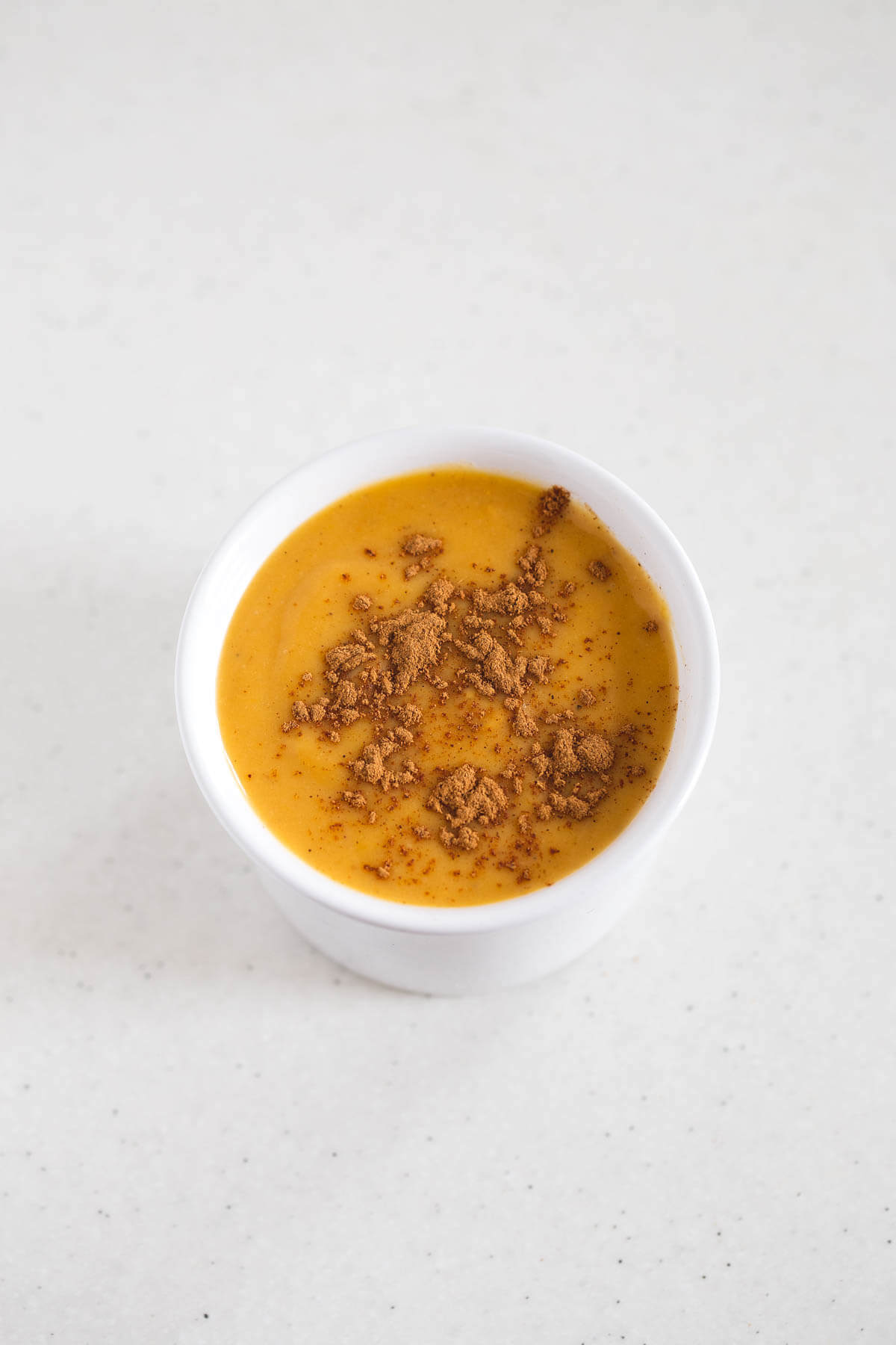 Vegan Pumpkin Custard: Vegan custard is very easy to make. You have to replace the eggs with cornstarch and the milk with non-dairy milk. This version has pumpkin.