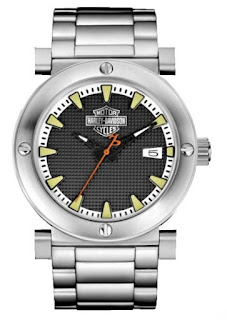 Harley Davidson Men's Bulova Watch 76B165