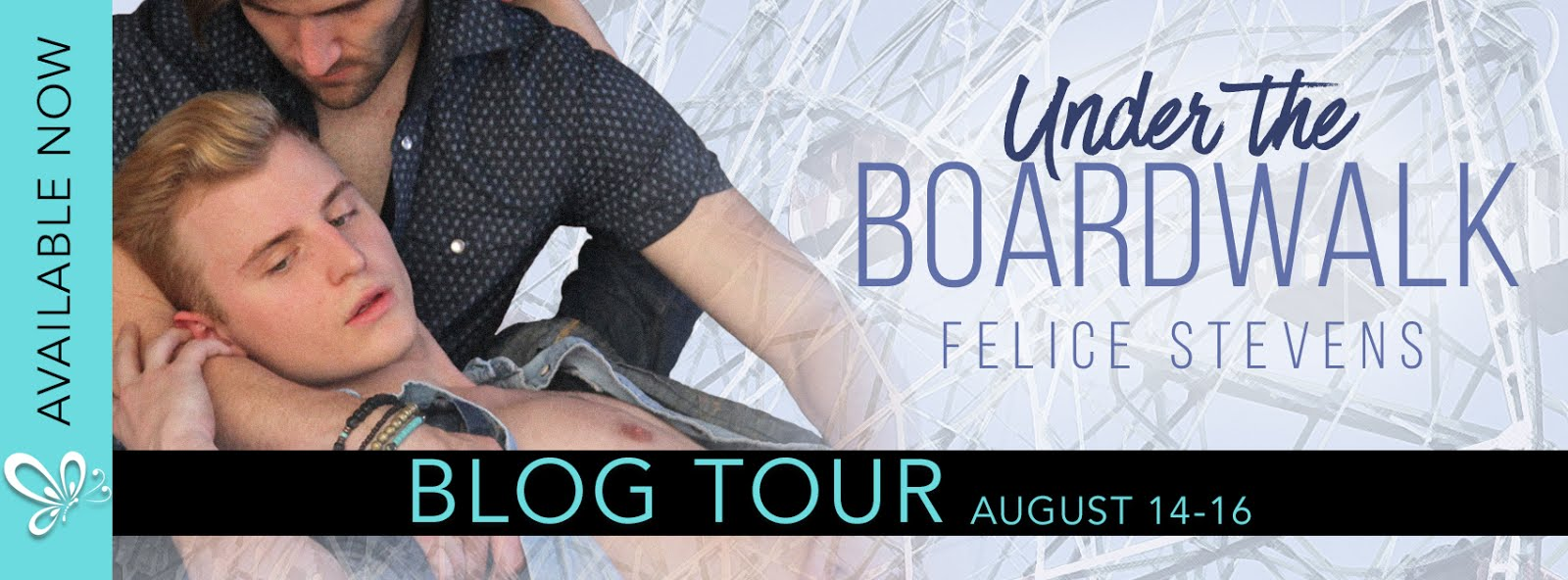 Under The Boardwalk Blog Tour