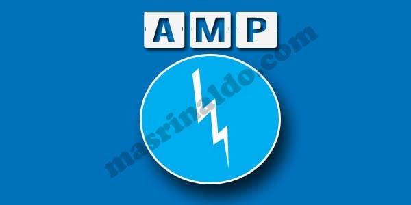 3 Kelebihan berikut 5 kekurangan template AMP Blog dan Website Mas Rinaldo