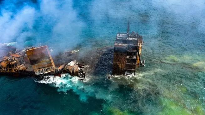 Sri Lanka, disastro ambientale: affonda nave mercantile