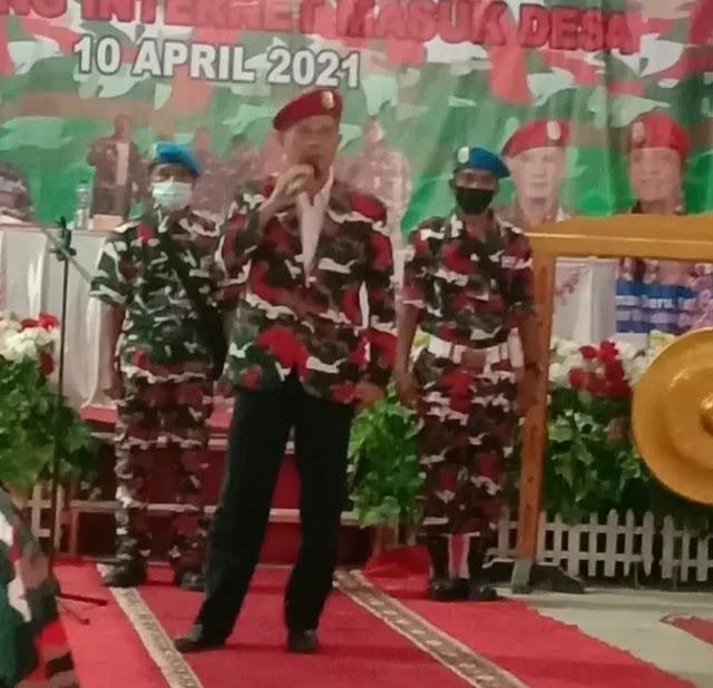 Alex Kosasih Nakhoda Ormas Laskar Merah Putih Markas Daerah Sumsel