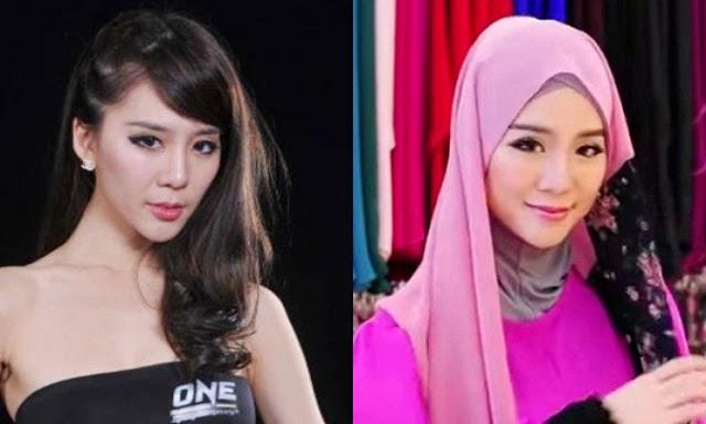 Mantan Model Playboy Jadi Mualaf dan Pakai Hijab