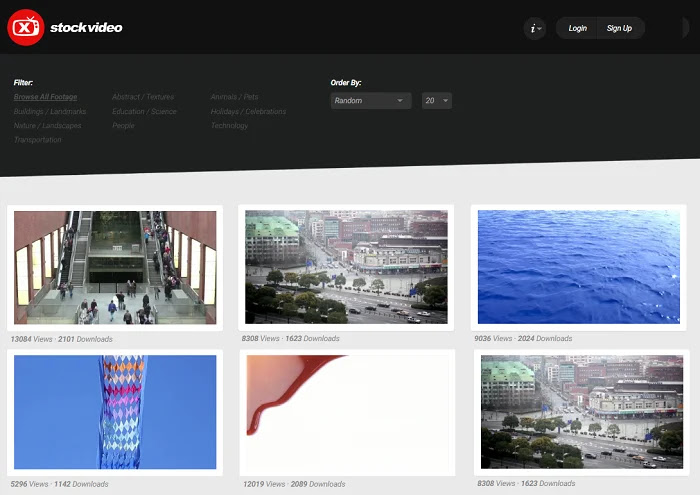 Xstockvideo comes with HD royalty-free videos and clips collection