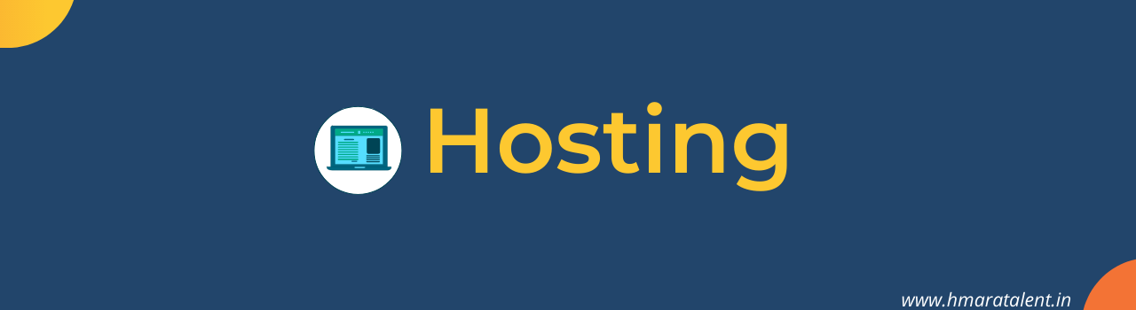 Web hosting makes the files that comprise a website (code, images, etc.) available for viewing online. Every website you've ever visited is hosted on a server.  Normally Per Month Hosting fees is 199 INR Minimum but if Hosting Providers are giving Flash sale with a discount so we can get it on very good price.  But in blogger, we do not have any need to host anything because Blogger is self Hosted Platform, I have mentioned above about Hosting for knowledge purpose.
