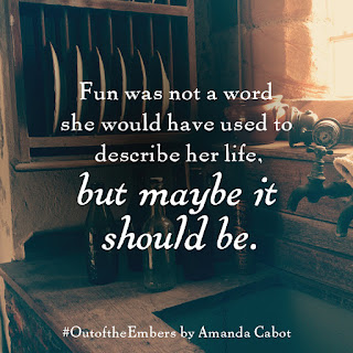 Fun was not a word she would have used to describe her life.