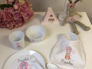 Vajilla irrompible para bebé
