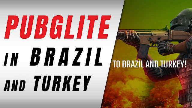 PUBG LITE! Now Playable In Brazil And Turkey!