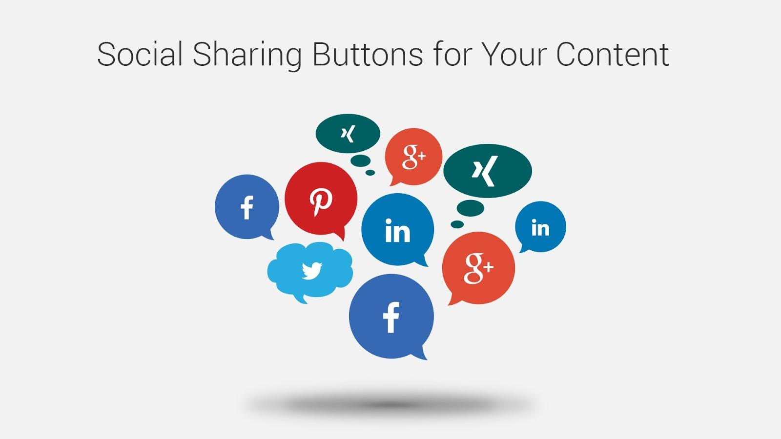 amp social share