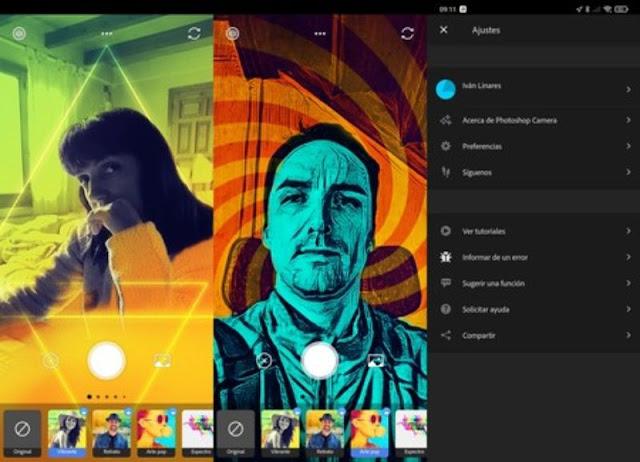 تطبيق Photoshop Camera لالتقاط صور احترافية على اندرويد