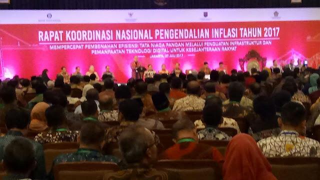 Wabup Muba Hadiri Rakornas TPID 2017
