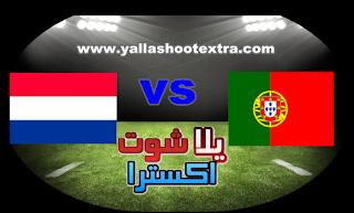 مشاهدة مباراة البرتغال وهولندا بث مباشر 09-06-2019 دوري الأمم الأوروبية