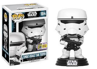 Pop! Star Wars: Rogue One - Combat Assault Tank Trooper.