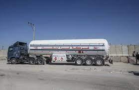 transfer of fuel tanks to Gaza