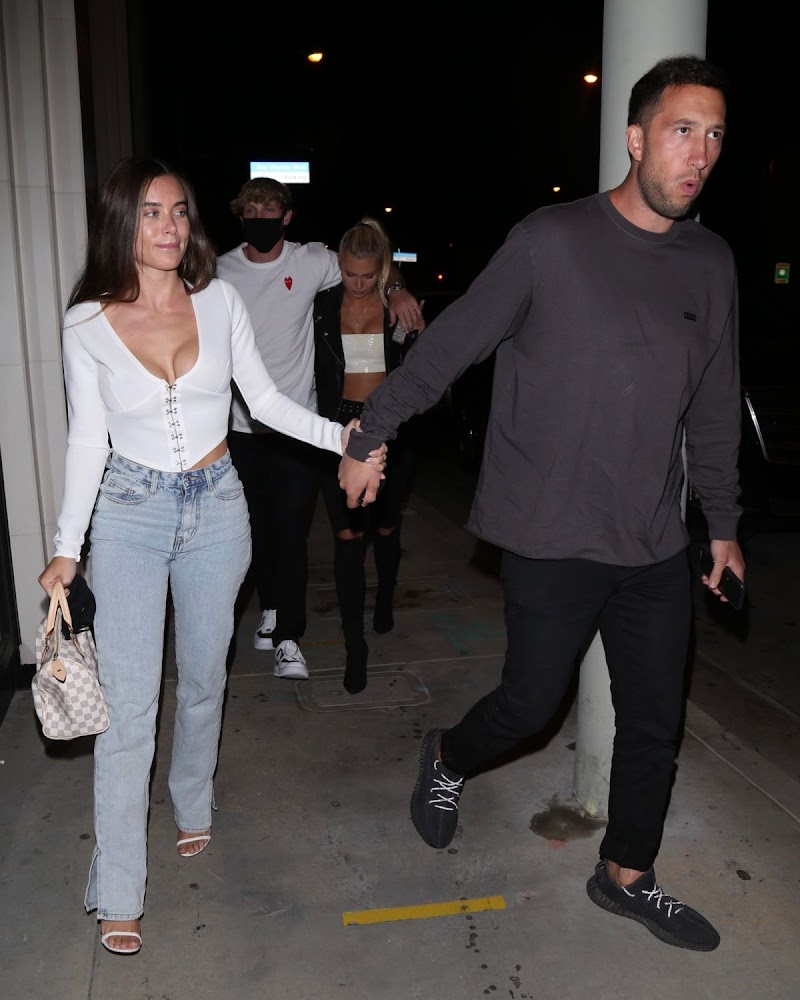 Lana Rhoades Out for Dinner in West Hollywood 13 Jun-2020