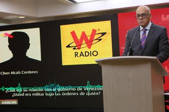 Ministro Rodríguez: Declaraciones de Clíver Alcalá confirman lo que ya nosotros habíamos denunciado