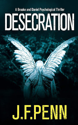 Desecration by J.F. Penn book cover