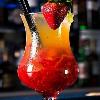 cocktail con fresas del mago del gin tonic